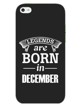 Legends December iPhone 5S Mobile Cover Case