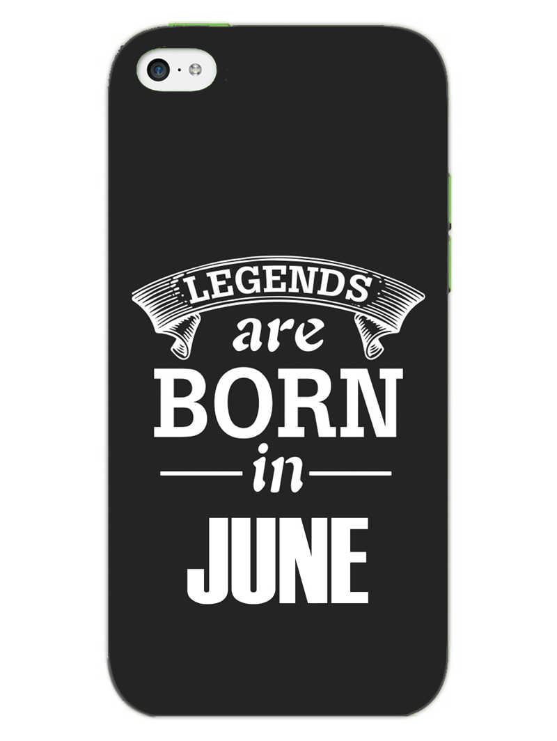Legends June iPhone 5S Mobile Cover Case