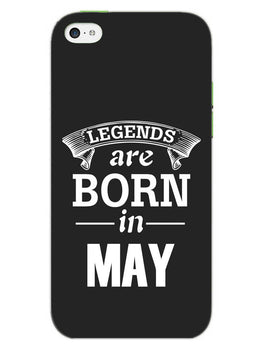 Legends May iPhone 5S Mobile Cover Case
