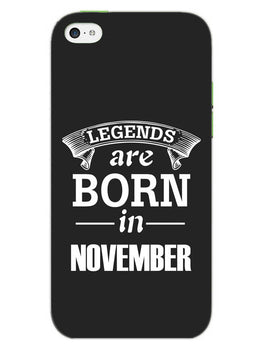 Legends November iPhone 5S Mobile Cover Case