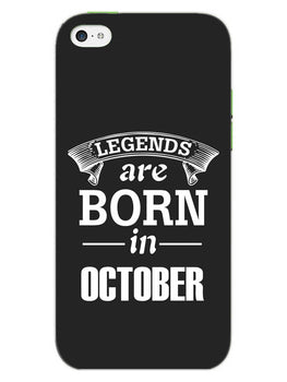 Legends October iPhone 5S Mobile Cover Case
