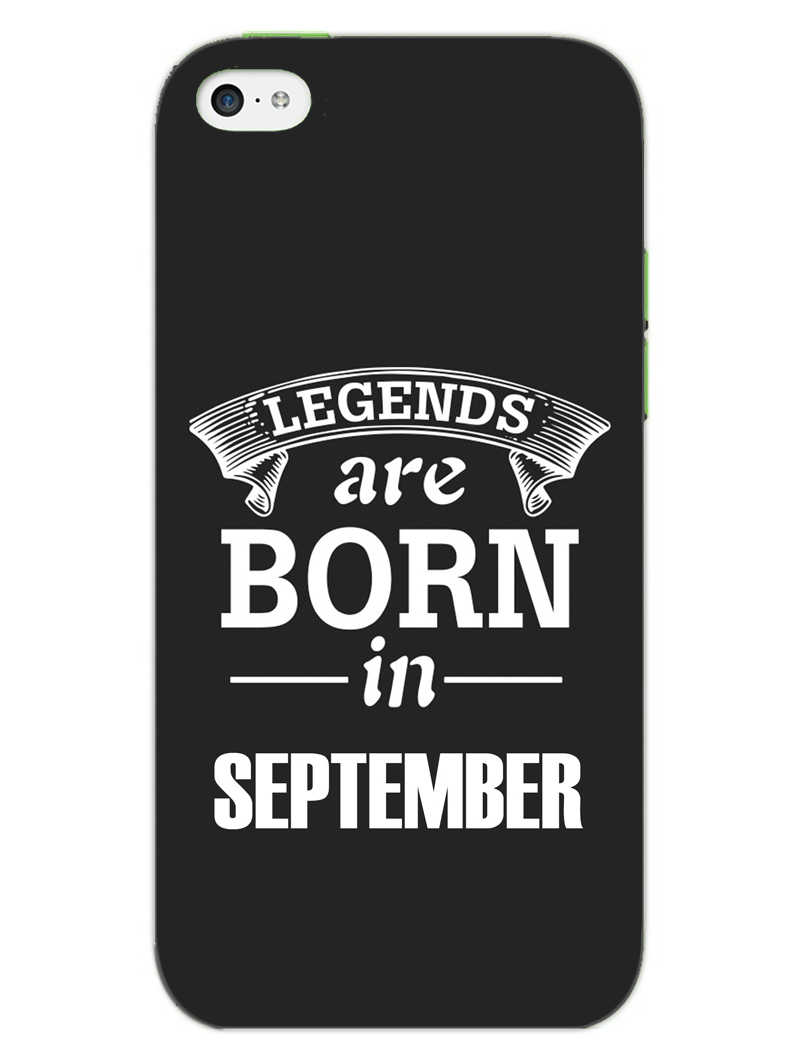 Legends September iPhone 5S Mobile Cover Case
