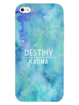 Destiny Vs Karma iPhone 5S Mobile Cover Case
