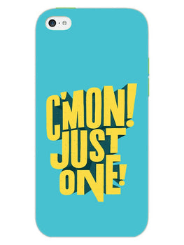 Come On Motivational Quote iPhone 5S Mobile Cover Case