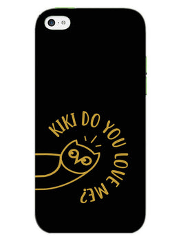 Cute Owl Pub G iPhone 5S Mobile Cover Case
