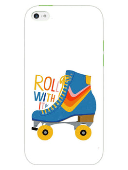 Roller Skate Play With Fun iPhone 5S Mobile Cover Case