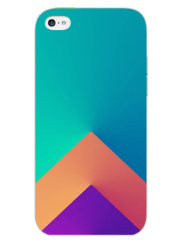 Triangular Shapes iPhone 5S Mobile Cover Case