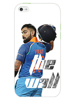 Kohli The Wall Cricket Lover iPhone 5S Mobile Cover Case