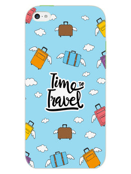 Time To Travel iPhone 5S Mobile Cover Case