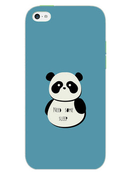 Sleepy Panda iPhone 5S Mobile Cover Case