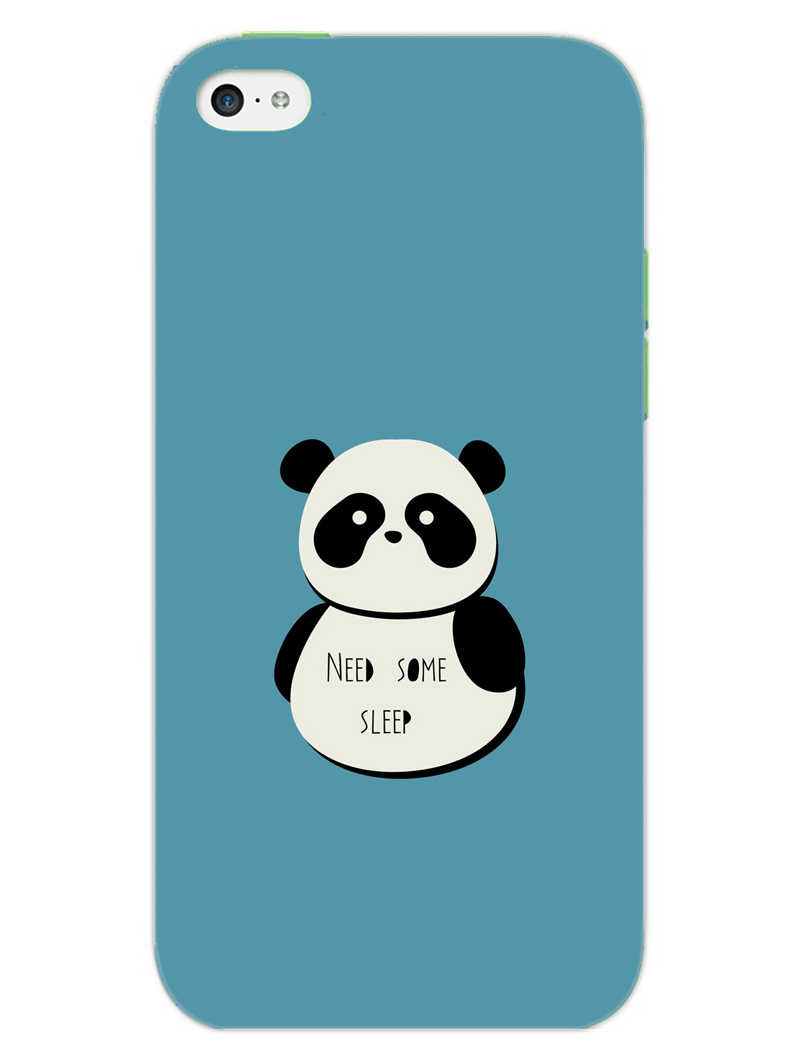 Sleepy Panda iPhone 5S Mobile Cover Case - MADANYU