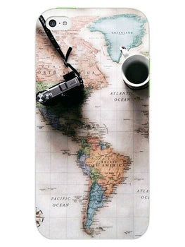 Wanderer's Map iPhone 5S Mobile Cover Case