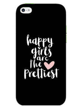 Happy Girls iPhone 5S Mobile Cover Case