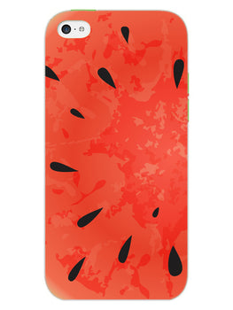 Drinking Watermelon iPhone 5S Mobile Cover Case
