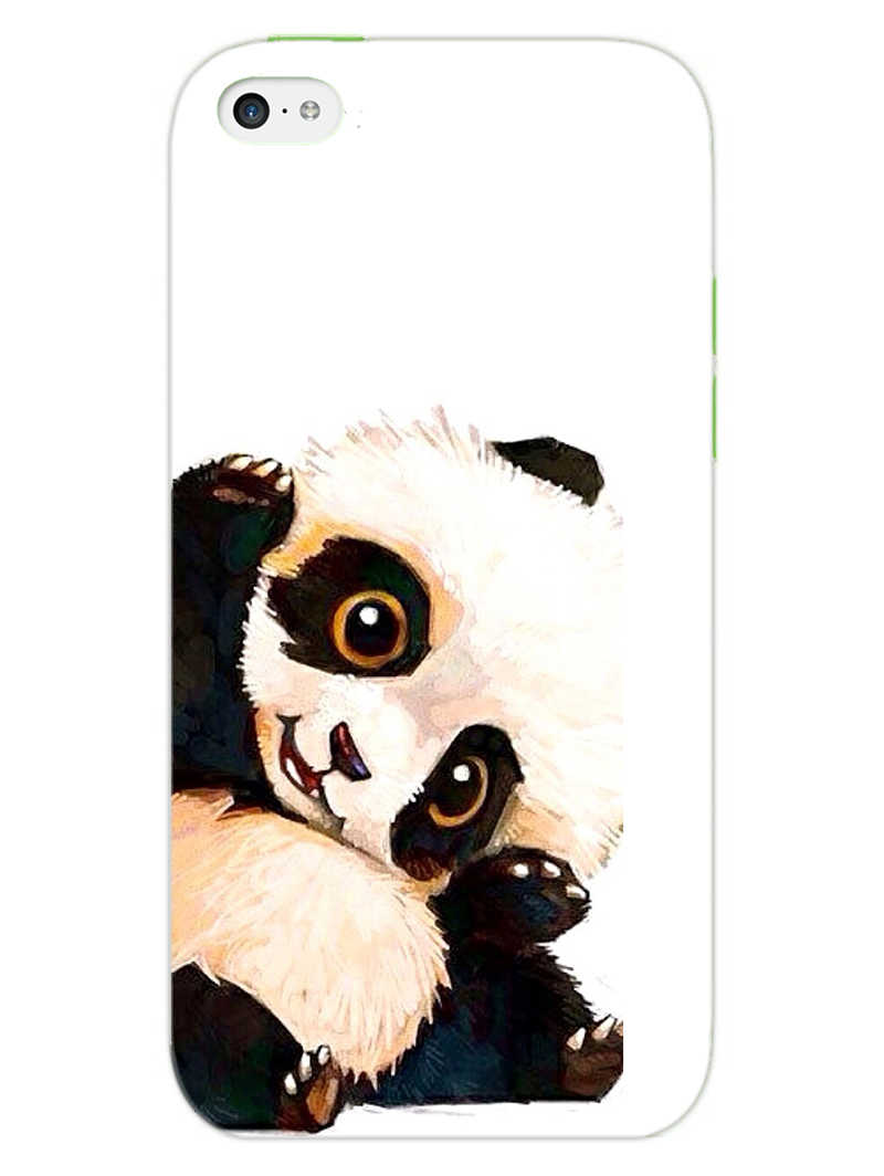 Cute Baby Panda iPhone 5S Mobile Cover Case - MADANYU
