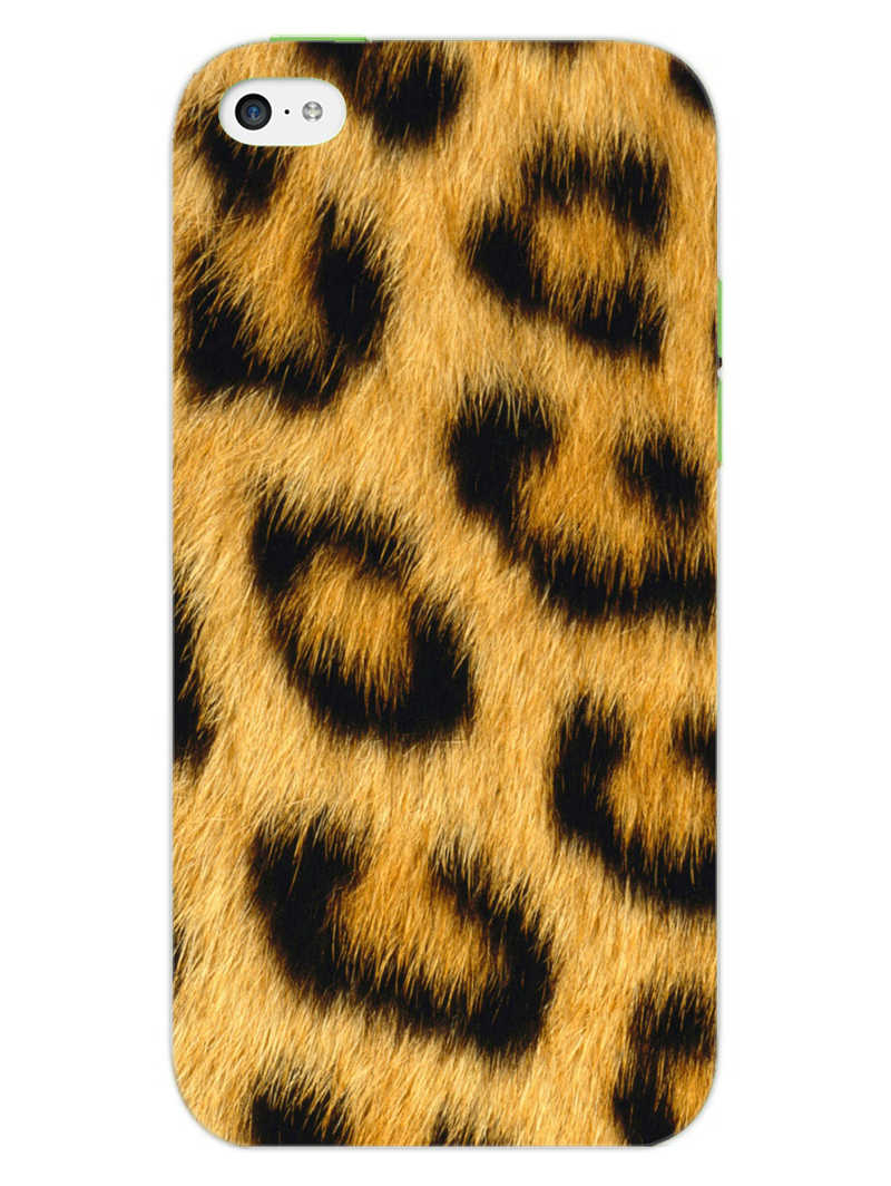 Leopard Print iPhone 5S Mobile Cover Case