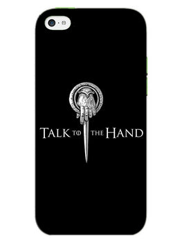 Talk To Hand iPhone 5S Mobile Cover Case