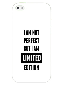 I Am Limited Edition iPhone 5S Mobile Cover Case