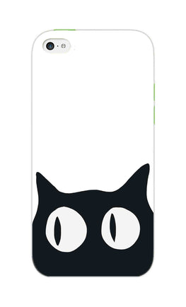 Cat Face Cat Lovers iPhone 5S Mobile Cover Case