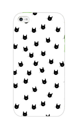 Cats Everywhere Cat Lovers iPhone 5S Mobile Cover Case