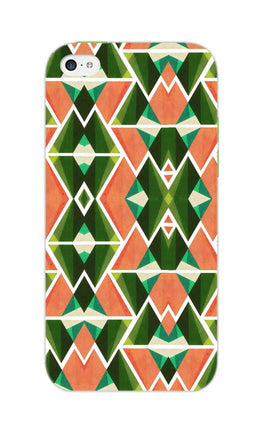 Diamond Geometric Pattern iPhone 5S Mobile Cover Case