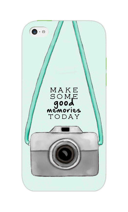 Camera Art For Good Memories iPhone 5S Mobile Cover Case