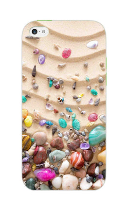 Sea Shell Collection Beach Lovers iPhone 5S Mobile Cover Case