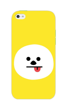 Tongue Out Smile Funny Face iPhone 5S Mobile Cover Case