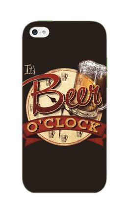 Beer Oclock Beer Lovers iPhone 5S Mobile Cover Case