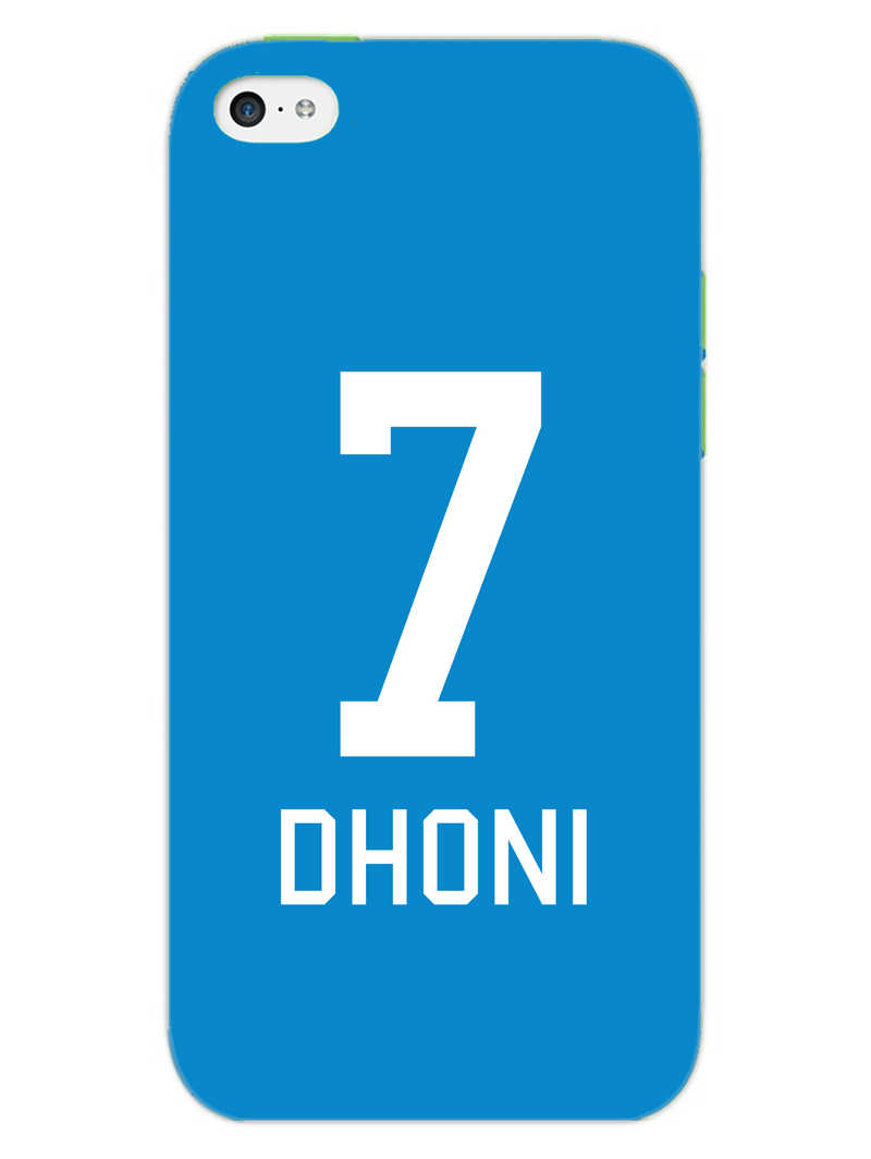Dhoni Jersey iPhone 5S Mobile Cover Case