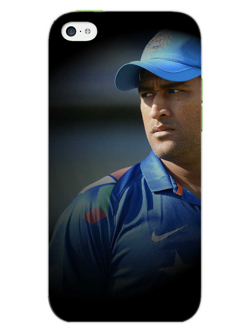 Dhoni Spotlight iPhone 5S Mobile Cover Case - MADANYU