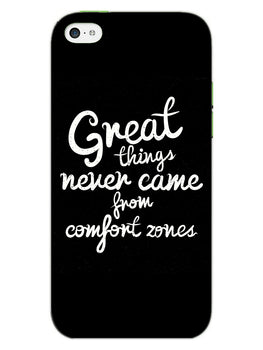 Comfort Zone Gyaan iPhone 5 Mobile Cover Case