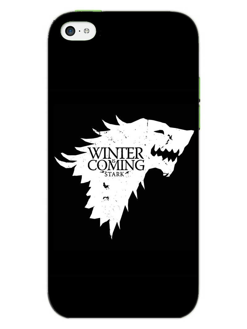 Winter Is Coming iPhone 5 Mobile Cover Case - MADANYU