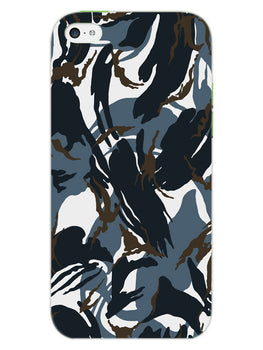 Camouflage Army Military iPhone 5 Mobile Cover Case