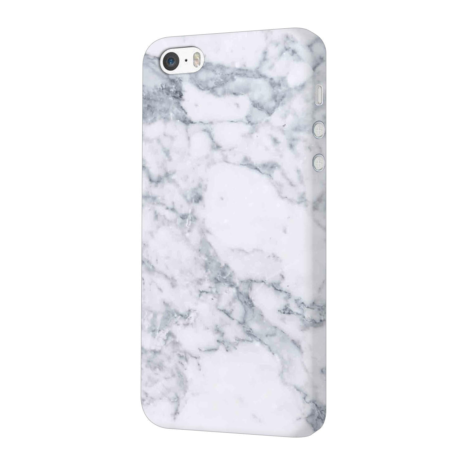 Chic White Marble iPhone 5 Mobile Cover Case - MADANYU