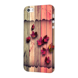 Color Wood iPhone 5 Mobile Cover Case