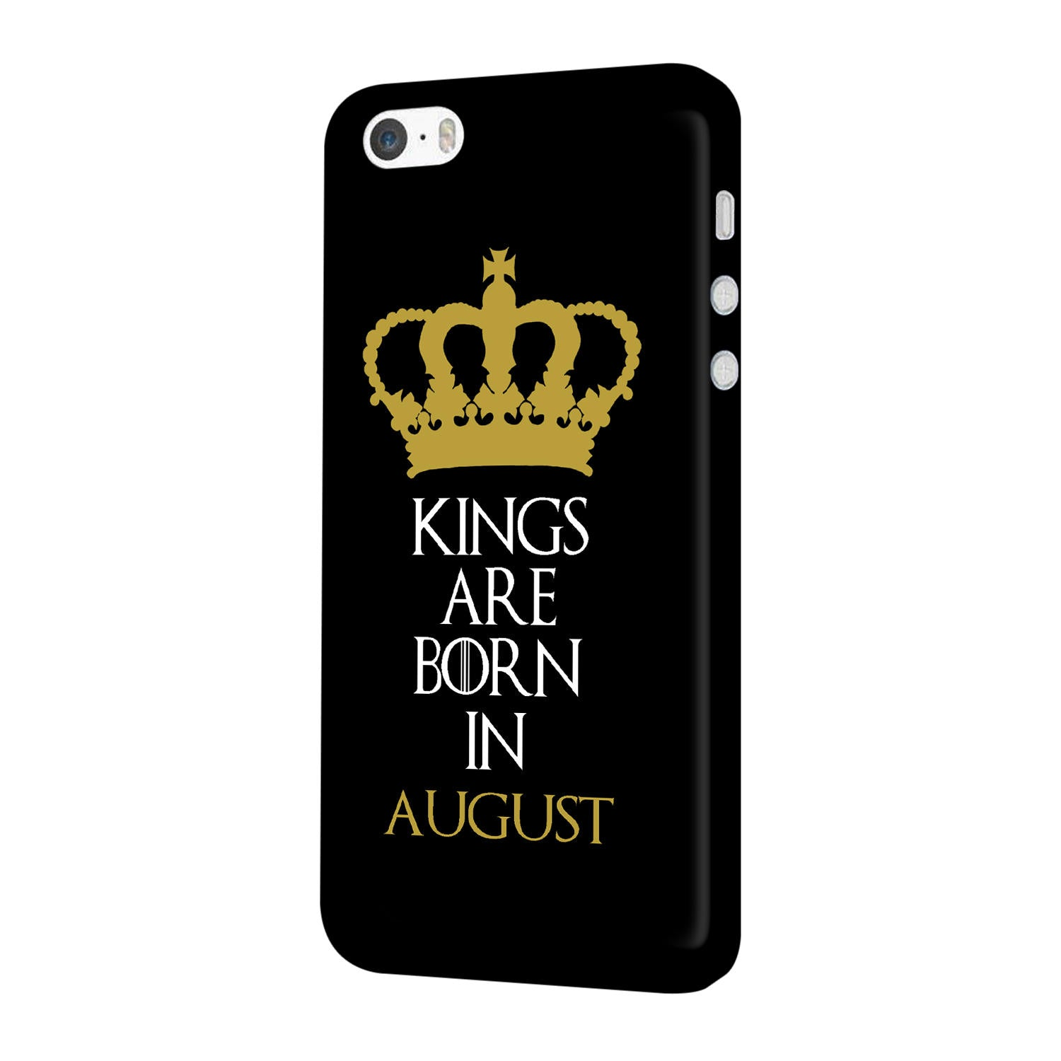 Kings August iPhone 5 Mobile Cover Case