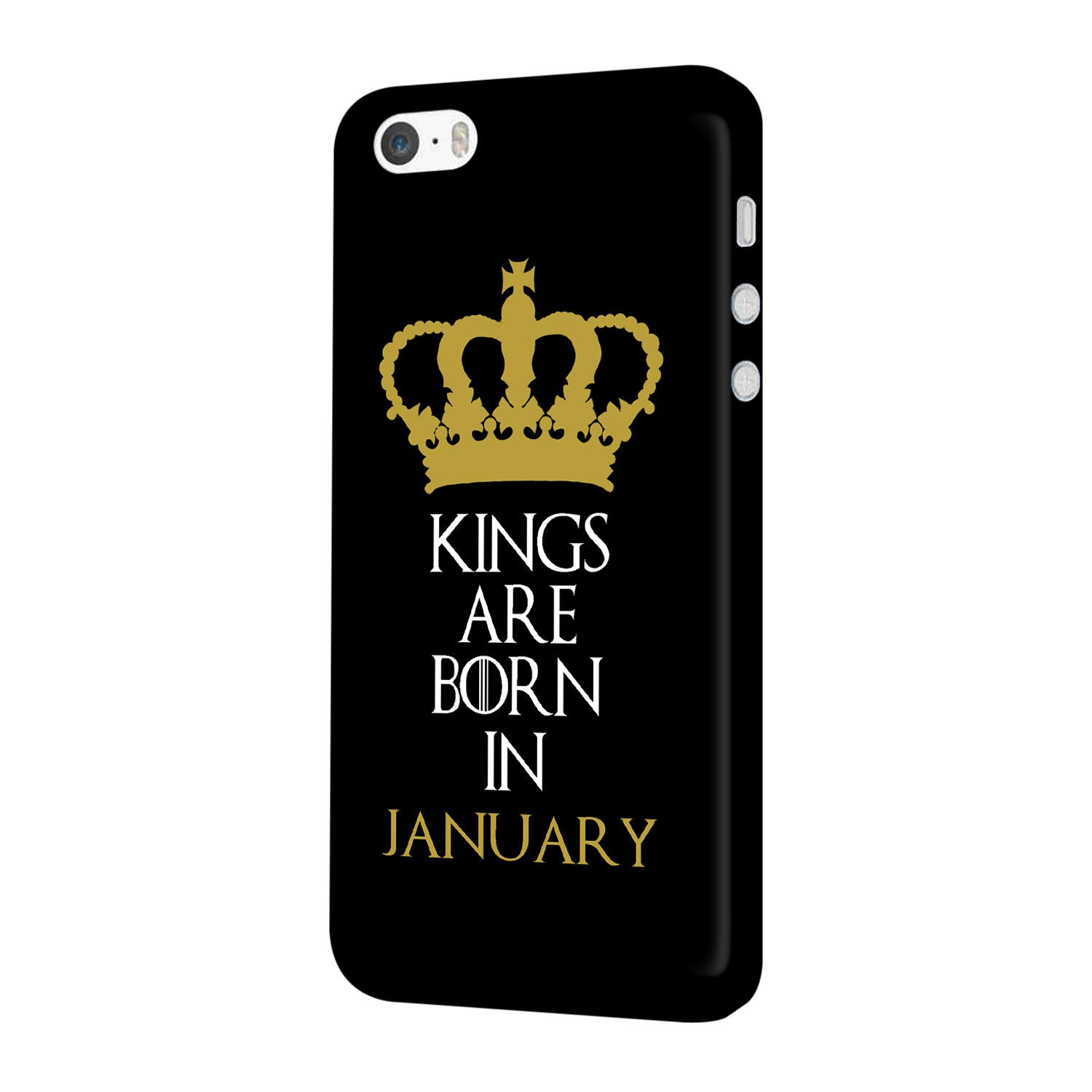 Kings January iPhone 5 Mobile Cover Case - MADANYU