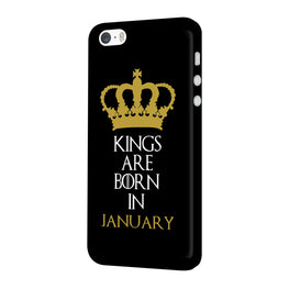 Kings January iPhone 5 Mobile Cover Case