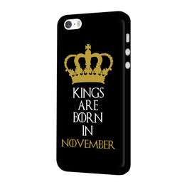 Kings November iPhone 5 Mobile Cover Case