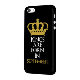 Kings September iPhone 5 Mobile Cover Case