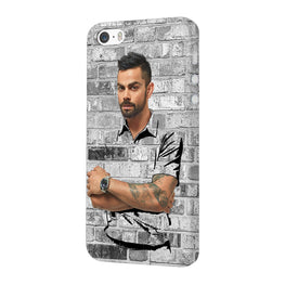 The Wall Of Kohli iPhone 5 Mobile Cover Case