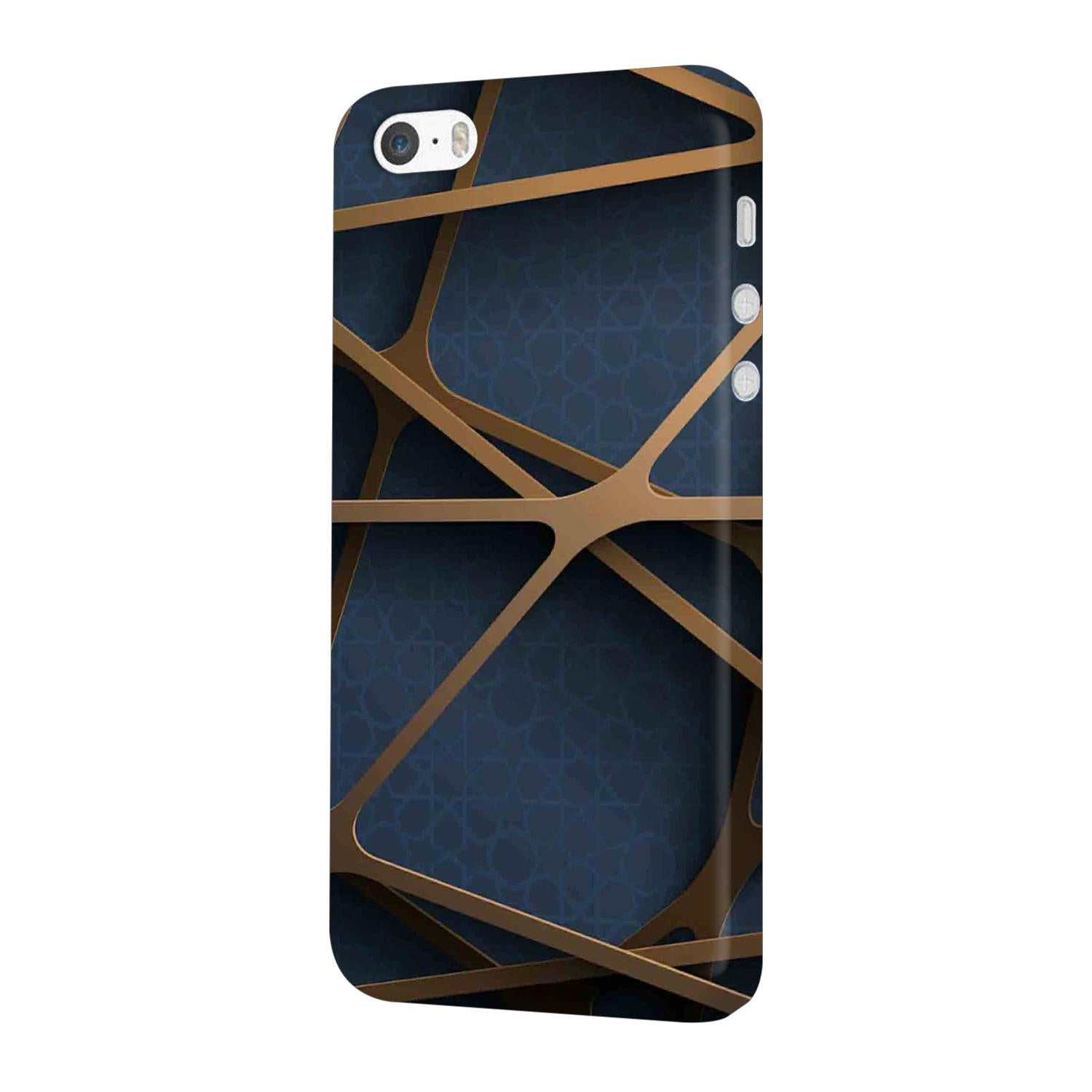 Random Geometry iPhone 5 Mobile Cover Case - MADANYU