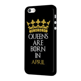 Queens April iPhone 5 Mobile Cover Case