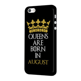 Queens August iPhone 5 Mobile Cover Case