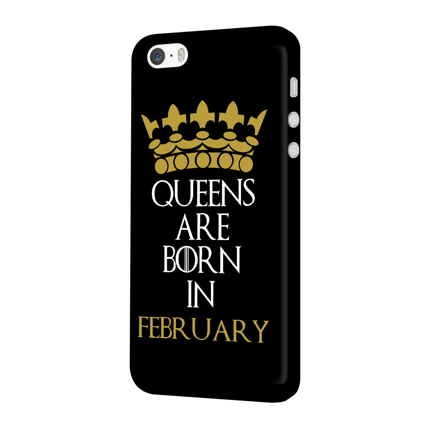 Queens February iPhone 5 Mobile Cover Case - MADANYU
