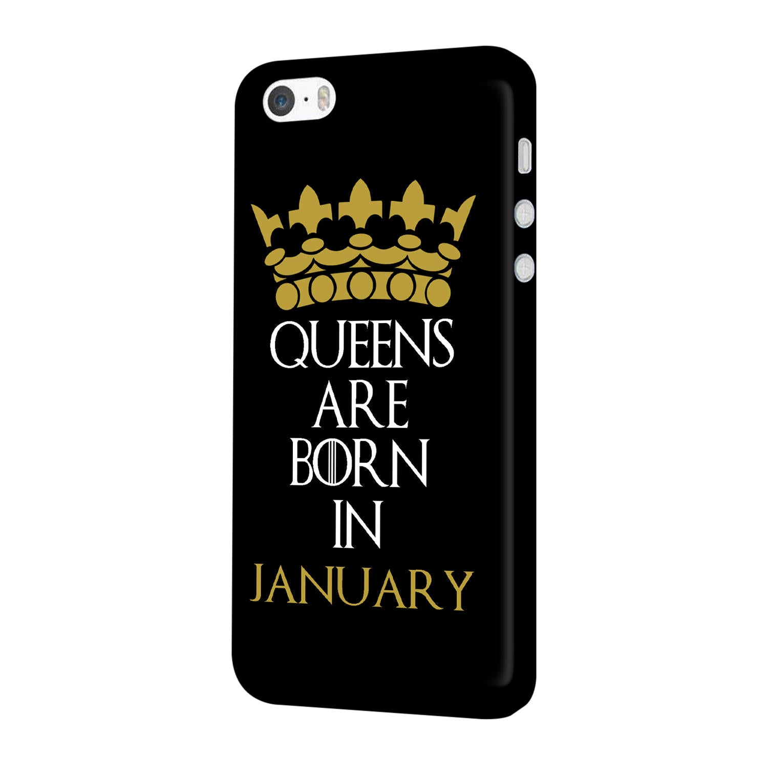 Queens January iPhone 5 Mobile Cover Case