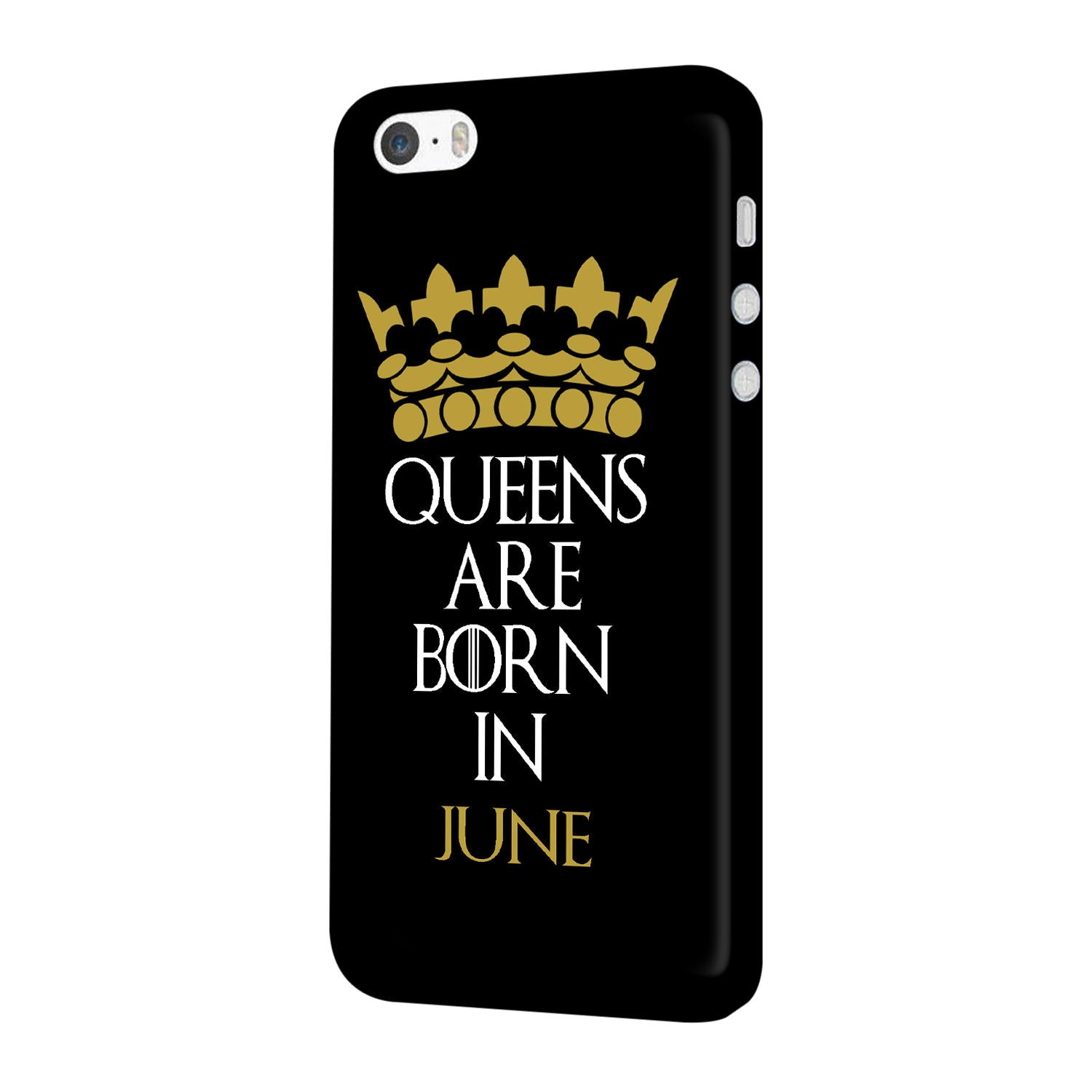 Queens June iPhone 5 Mobile Cover Case - MADANYU