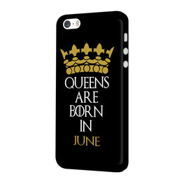Queens June iPhone 5 Mobile Cover Case