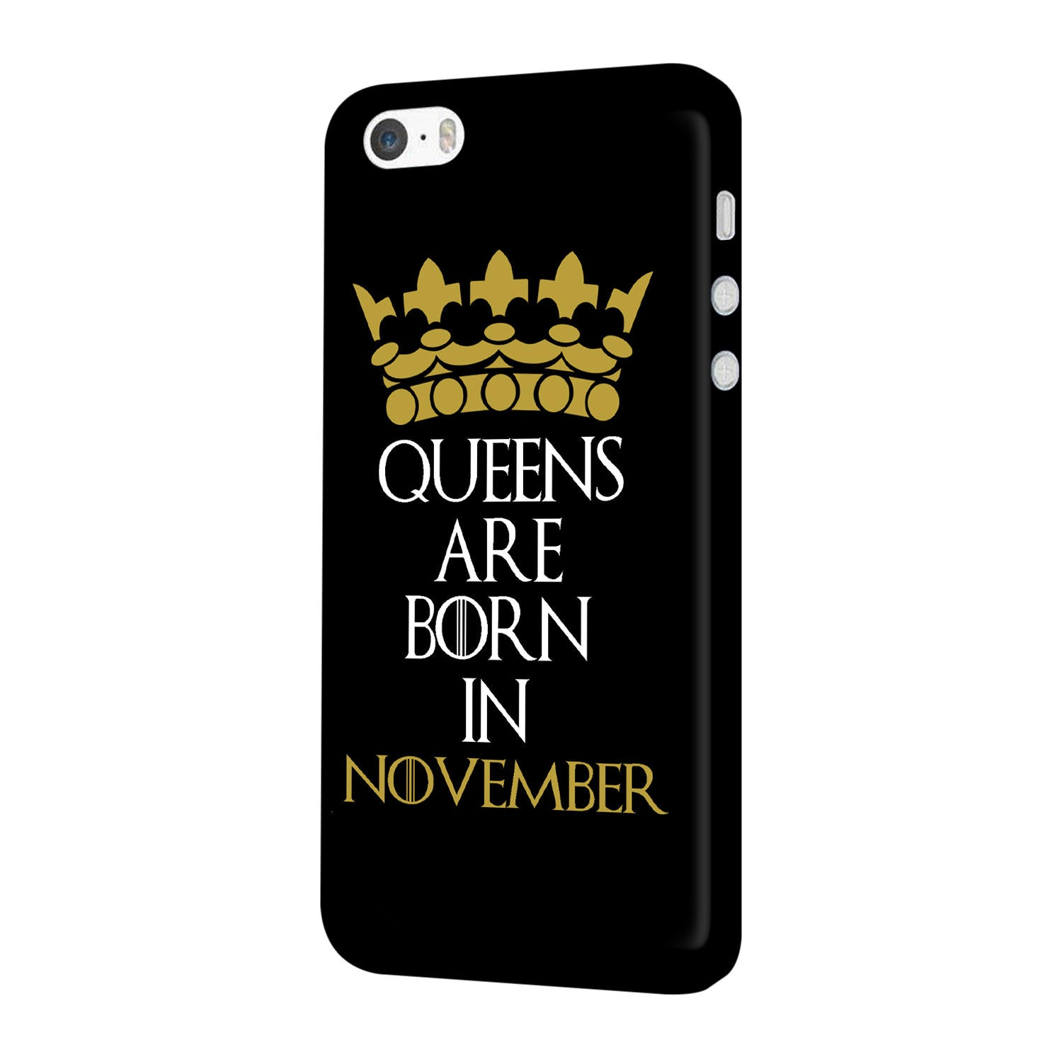 Queens November iPhone 5 Mobile Cover Case - MADANYU
